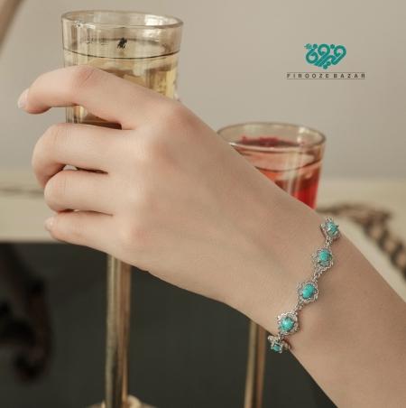 دستبند فیروزه BS_0102