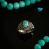 انگشتر نقره فیروزه نیشابوری زنانه RM_0106